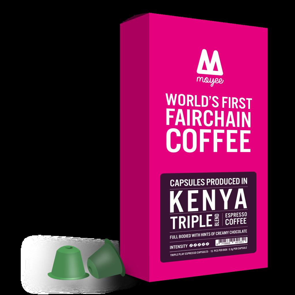 Keniaanse Triple Blend Koffe Capsules
