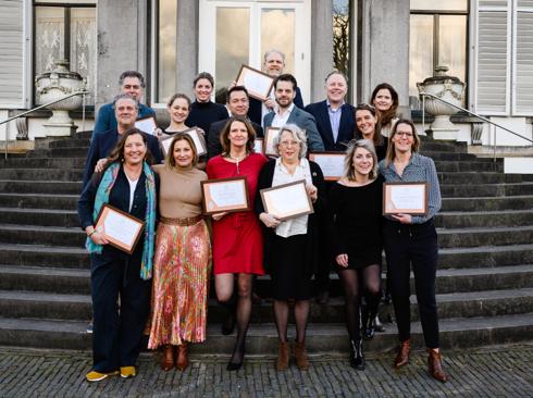 Nominatie Koning Willem I Plaquette voor Duurzaam Ondernemerschap 2