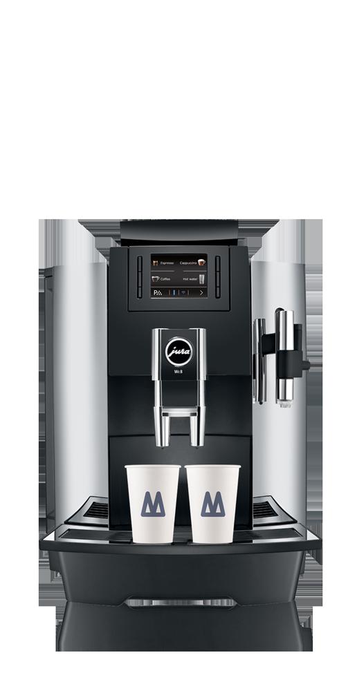Jura, koffie zakelijk op kantoor koffiemachine