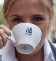 Koffie vrouw