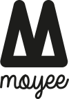moyee black logo